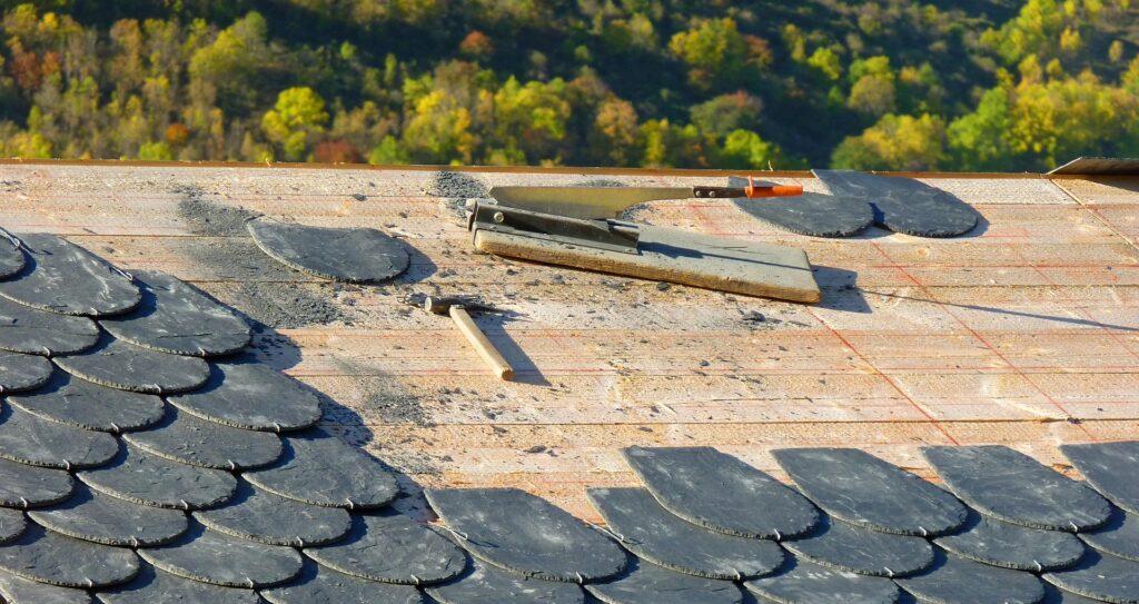 屋根ふき工事